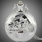 1 - Cool Exquisite Personality and Stylish Motorcycle Pocket Watch