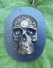 Day of dead skull mold plaster cement mould 6 x 35 x up to 1