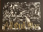 All Out War -Dying Gods , Limited Edition Screen Printed Poster,rare,Hatebreed