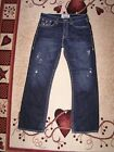 Big Star Vintage Voyager Straight Jeans Tag size 36 L Actual size W 38 L35