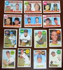 Lot of 900 1969 Topps commons. Sharp. Dups. No creases.