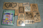 PSX + others Rubber Stamp Lot of 13 Estate Sale Lot Good Used