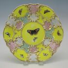18th/19th Century porcelain hand painted Butterfly plate