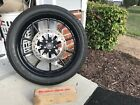 Harley Davidson Softail Breakout Front wheel 21 and rotor Powder coated Black