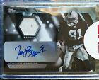 TIM BROWN 2015 TOPPS RELIC #TAR-TB AUTO GAME JERSEY 34 35 AUTOGRAPH RAIDERS HOF