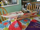 RC WELLCRAFT RACING BOAT 1980S 28IN