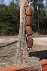 (1)pc, Authentic Commercial Fishing Net Rope Float, Saltwater Fishing Decor