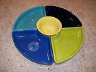 Fiesta 5 Piece Entertaining Set - 4 Omni Trays, 1 Bouillon Bowl/New in Box