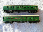 TRI ANG RAILWAYS OO HO No R220 9 BR SR 3rd BRAKE COACH S34245 X 2