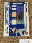 2005 Absolute Tools of Trade Autograph Swatch Triple Andre Dawson 50, *SEWALL*