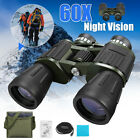 60 x 60 Zoom Day Night Vision Outdoor Travel Binoculars Hunting Telescope + Bag