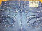 LUCKY BRAND Lil Tahiti sz 2 HARD to FIND Ultra Low rise Button fly Jeans