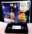 Peter and the Wolf Clamshell Kirstie Alley Lloyd Bridges Ross Malinger VHS 1996