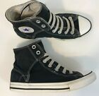Converse Chuck Taylor All Star Sneakers Size 3 Youth Canvas Hi Top Black