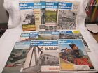 MODEL RAILROADER Magazine 13 Issues 1960S