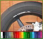 8 x Yamaha Tenere wheel rim decals stickers - xt660z 660 z660 xtz660