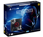 SONY PS4 Play station 4 Pro Star Wars Battlefront II Limited Edition 1TB NEW EMS