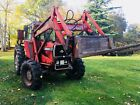 MASSEY FERGUSON 590 4X4 WITH POWER LOADER
