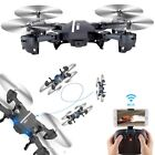 Mini 8807W Foldable With Wifi FPV HD Camera 24G 6 Axis RC Quadcopter Drone Toys