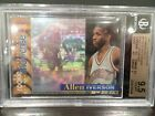 1996-97 ALLEN IVERSON TSC MEMBERS ONLY SHOWCASE BGS 9.5 RC GEM MINT RARE ROOKIE