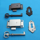 Cabinet Door Lock Set Key Curio Grandfather Clock China Jewlery Replacement New