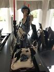 G. ARMANI 1987 LADY WITH GREAT DANE SIGN MADE in ITALY limited edition