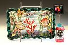 Vintage 1950s Italian Pottery Fish Figure Raymor Tropical Reef Sea World Diorama