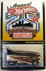 Hot Wheels 25th Convention VW T1 Drag Bus from 2011 687 3500