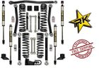 Rock Krawler 25 Adventure Series 2 Kit Stage 1 07 18 Jeep Wrangler JKU 4DR