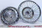 96-04 SUZUKI LS650P SAVAGE 650 LS650 P FRONT REAR WHEEL RIM ROTOR SPROCKET SET