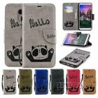 For Xiaomi PU leather Wallte Phone case Card holder bear Protective skins Panda