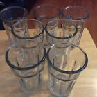 Glasses Set-7 ANCHOR HOCKING USA TUMBLER WATER Tea Glasses 16oz. Nice