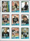 1988 Topps Football Complete 396 Card Set In Sheets & Album Bo Jackson Rookie