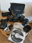 Olympus E-410 SE Bundle with two lenses and accessories
