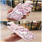 Cute Hello Kity Cartoon Soft Silicone Back Phone Case Cover For iPhone X 6s 7 8