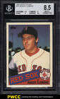 1985 Topps Tiffany Roger Clemens ROOKIE RC #181 BGS 8.5 NM-MT+ (PWCC)