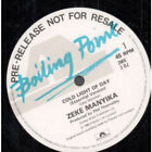 """ZEKE MANYIKA Cold Light Of Day 12"""" MAXI VINYL UK Polydor 2 Track Essential"""
