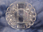 Veggie Relish Serving Plate Tray Hobnail