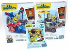 Minions Scooter Escape Flying Hot Dogs Series 3 Lot of 3 Mystery Pack Mega Bloks