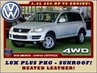 Touareg V6 4WD LUX PLUS PKG HEATED FRONT REAR LEATHER 2008 Volkswagen Touareg 2 V6 4WD LUX PLUS PKG HEATED FRONT REAR LEATHER Ref