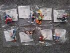 1990 Vintage Warner Brothers LOONEY TUNES Collector Figurines Complete set of 8