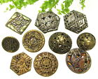 NICE LOT OF VINTAGE TWINKLE FILIGREE MIRROR BACK BUTTONS S15