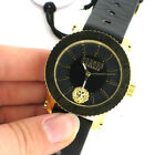 Versus Versace S31070016 Madison Black Leather Watch Parts Not Working