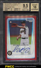 2011 Bowman Chrome Red Refractor Sonny Gray ROOKIE AUTO JSY # 2 5 BGS 9.5 (PWCC)