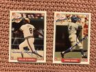 Ernie Banks & Willie Stargell Autograph Cards with Certificates