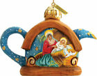 G Debrekht Nativity Teapot Ornament