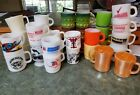 FIRE KING MUGS KIMBERLY STACKING FEDERAL D HANDLE GLASBAKE LOT OF 33