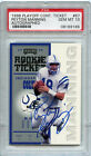 1998 Playoff Contenders Ticket Autograph Peyton Manning RC Rookie PSA 10 Pop 6