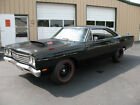 1969 Plymouth Road Runner 1969 ROAD RUNNER INDY 500ci 6 PACK CAR IS HODGE RESTORED BLACK ON BLACK FLAWLESS