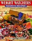 Weight Watchers Favorite Recipes by Weight Watchers International Inc Staff